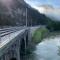 Železniški odsek Zidani most–Rimske Toplice po izvedbi.