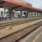 Železniška postaja Maribor pred izvedbo del.