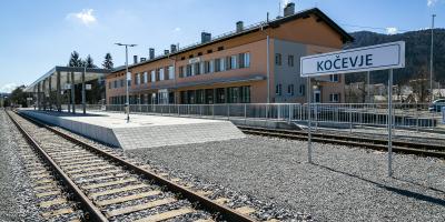 Nadgradnja železniške proge Grosuplje–Kočevje