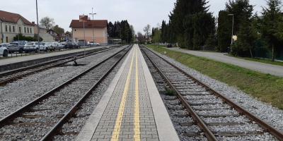 Nadgradnja železniške postaje Domžale